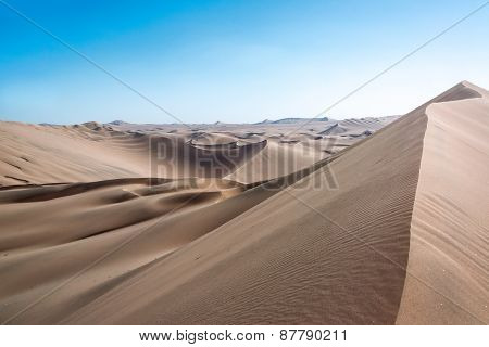 Sand Dune Desert Landscape