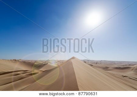 Sand Dune Lens Flare