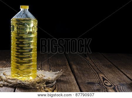 Bottle Of Soy Oil