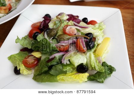 Salad With Salted Herring