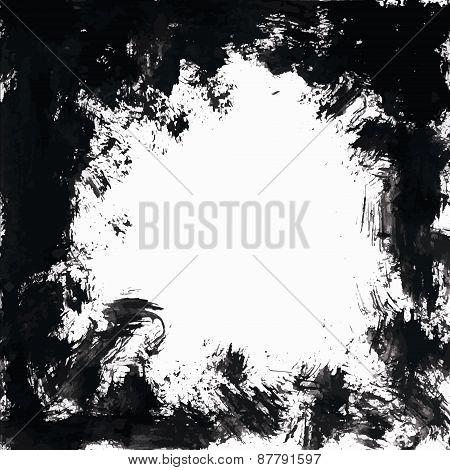 Grunge Black Frame