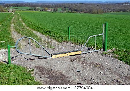 Livestock security gate
