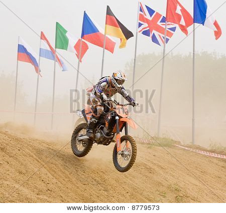 XX internationale Motocross in vladimir