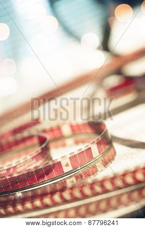 Abstract motion picture film