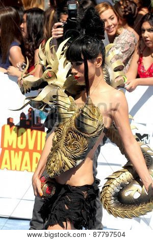 LOS ANGELES - FEB 11:  Bai Ling at the MTV Movie Awards 2015 at the Nokia Theater on April 11, 2015 in Los Angeles, CA