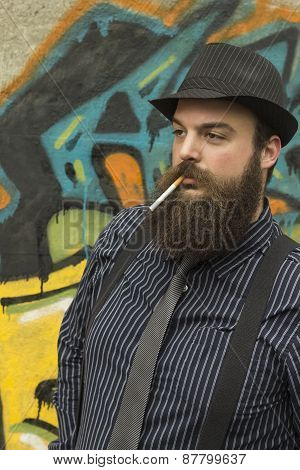Snazzy Bearded Man