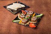 picture of meatballs  - Arab food - JPG
