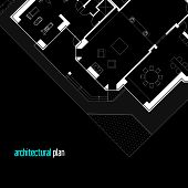 picture of architecture  - Architectural drawing of a private house - JPG
