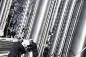 picture of gas-pipes  - oil - JPG