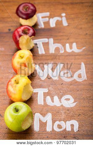 Bitten Apples