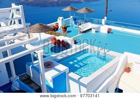 Villa In Firostefani, Santorini