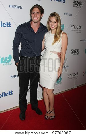 LOS ANGELES - JUN 30:  Blake Jenner, Melissa Benoist at the 6th Annual Thirst Gala at the Beverly Hilton Hotel on June 30, 2015 in Beverly Hills, CA