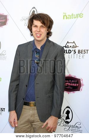 LOS ANGELES - AUG 1:  Matty Cardarople at the A CATbaret! - A Celebrity Musical Celebration of the Alluring Feline at the Avalon on August 1, 2015 in Los Angeles, CA