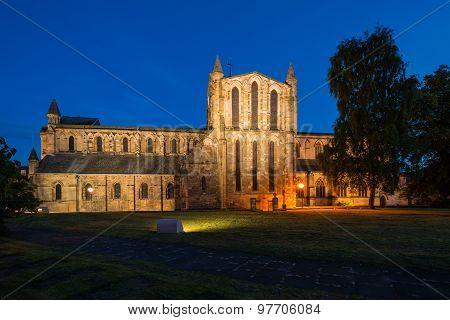 North Transept At Night