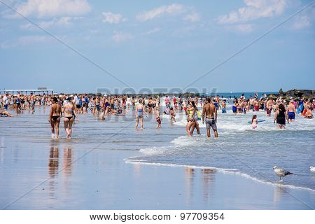 Belmar Beach Day