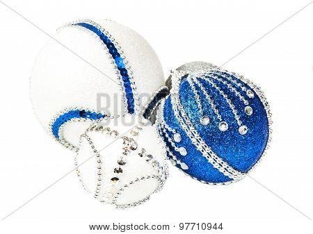 New Year Bright Christmas Balls