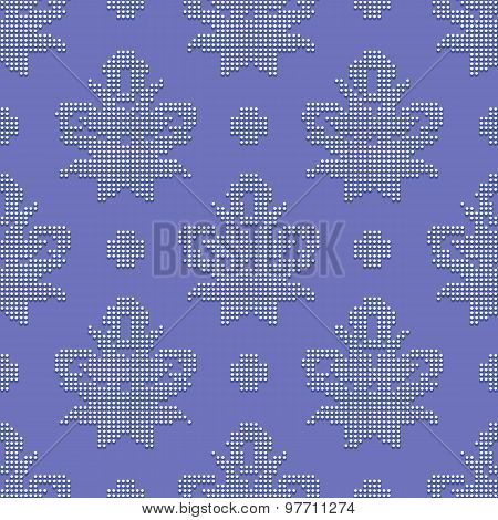 Delicate seamless classic pattern
