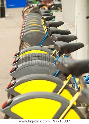Bycicles For Rent In Vienna