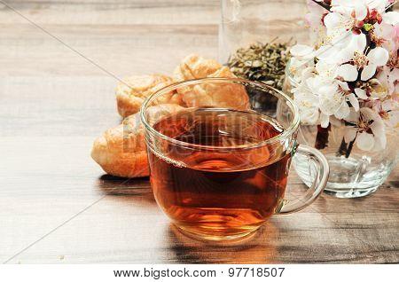 Black Tea In A Mug