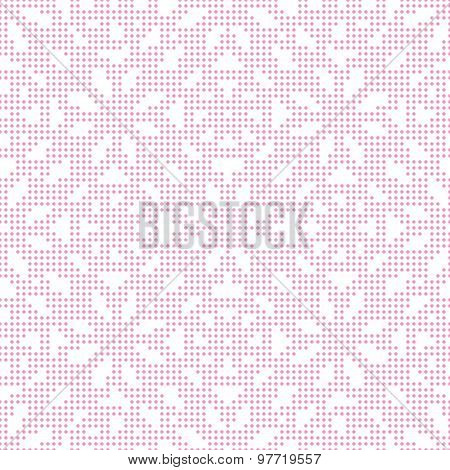 Pink seamless texture halftone