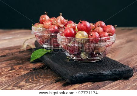 Fresh Berries Of Gooseberry
