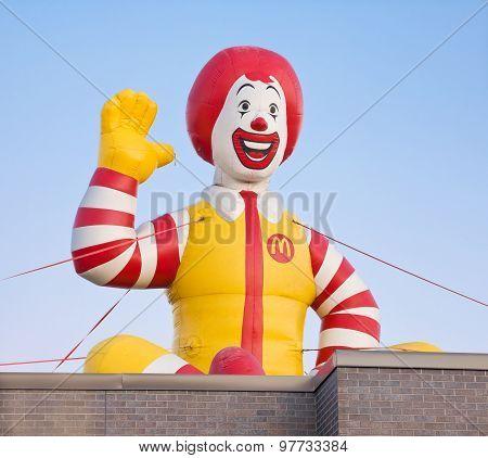 Ronald Mcdonald Inflatable