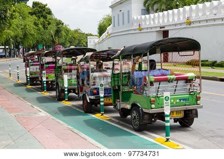 Row Of Tuktuk