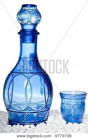 Beautiful Blue Bottle