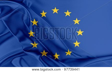 Europe Flag.