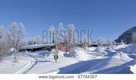 LAPLAND, SWEDEN ON MARCH 15