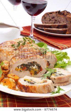 Pork Tenderloin Roulade