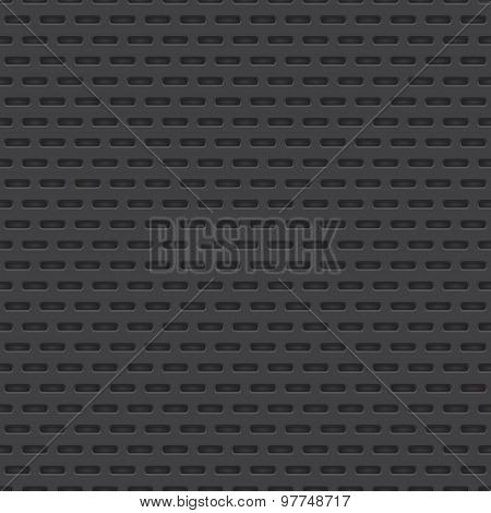 Vector Perforated Material Seamless Background