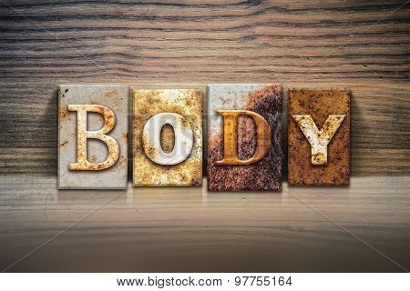 Body Concept Letterpress Theme