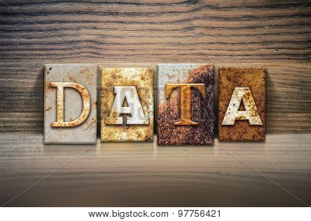 Data Concept Letterpress Theme