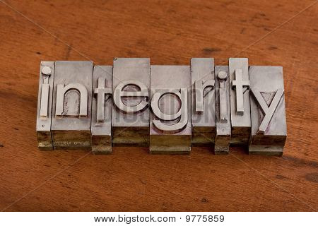 Integrity Or Ethics Concept