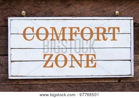 Inspirational Message - Comfort Zone