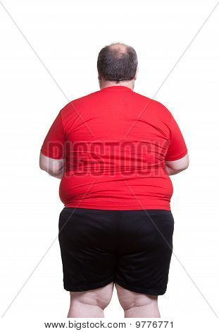Very Obese Man