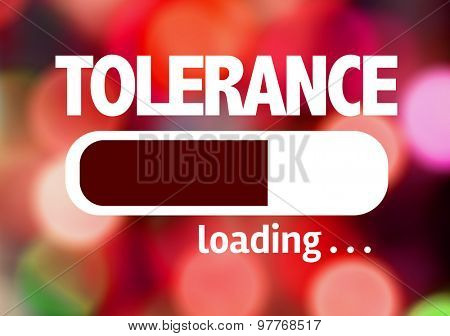 Progress Bar Loading with the text: Tolerance