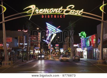 Fremont East Night