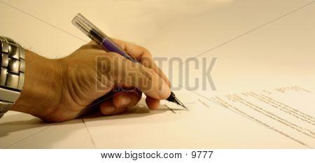 Letter Signature
