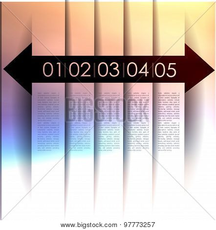 abstract background, number line,