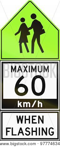 Maximum 60 Kmh When Flashing In Canada