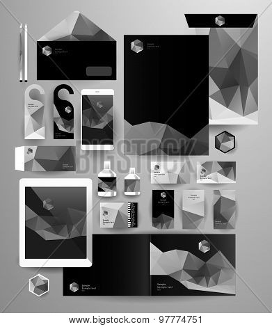 Abstract  business set. Corporate identity