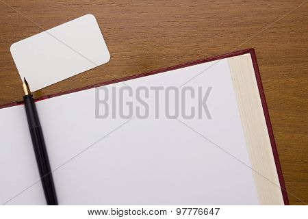 Thick Book With A Clean Slate