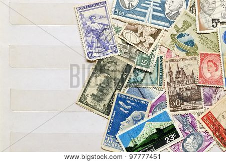 Used Stamps Mail
