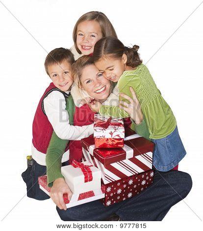 Christmas Joy with Mom and Family