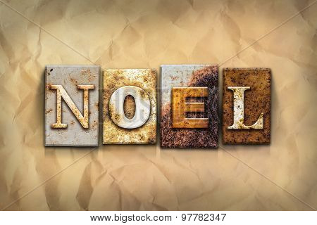 Noel Concept Rusted Metal Type