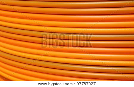 Cable Conduits For Fibre Optics For Adsl Connection For Internet Users