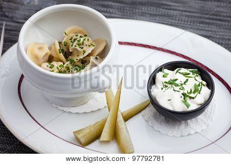 Siberian dumplings
