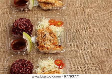 Clean Food Lunch Box